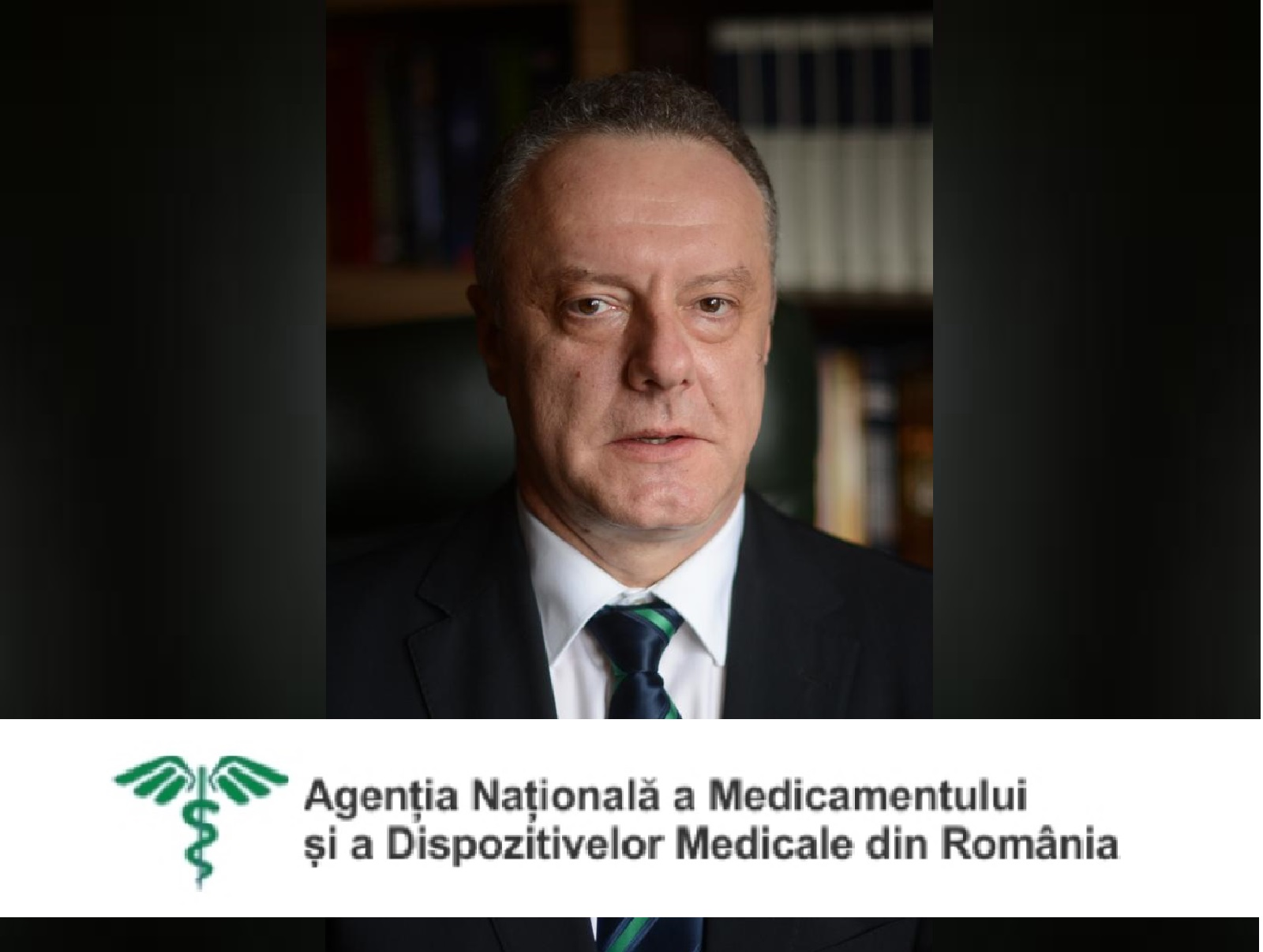 Dr. Eugen Bujor Almasan is the new interim president of Competent Authority (NAMMDR)
