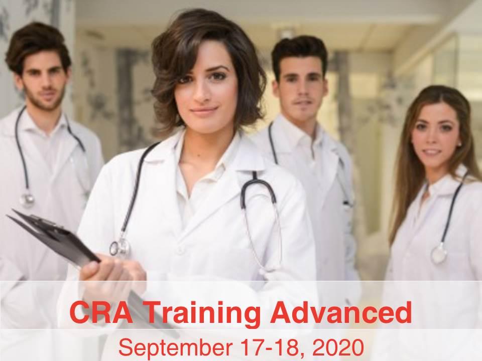 CRA Training for Advanced Level