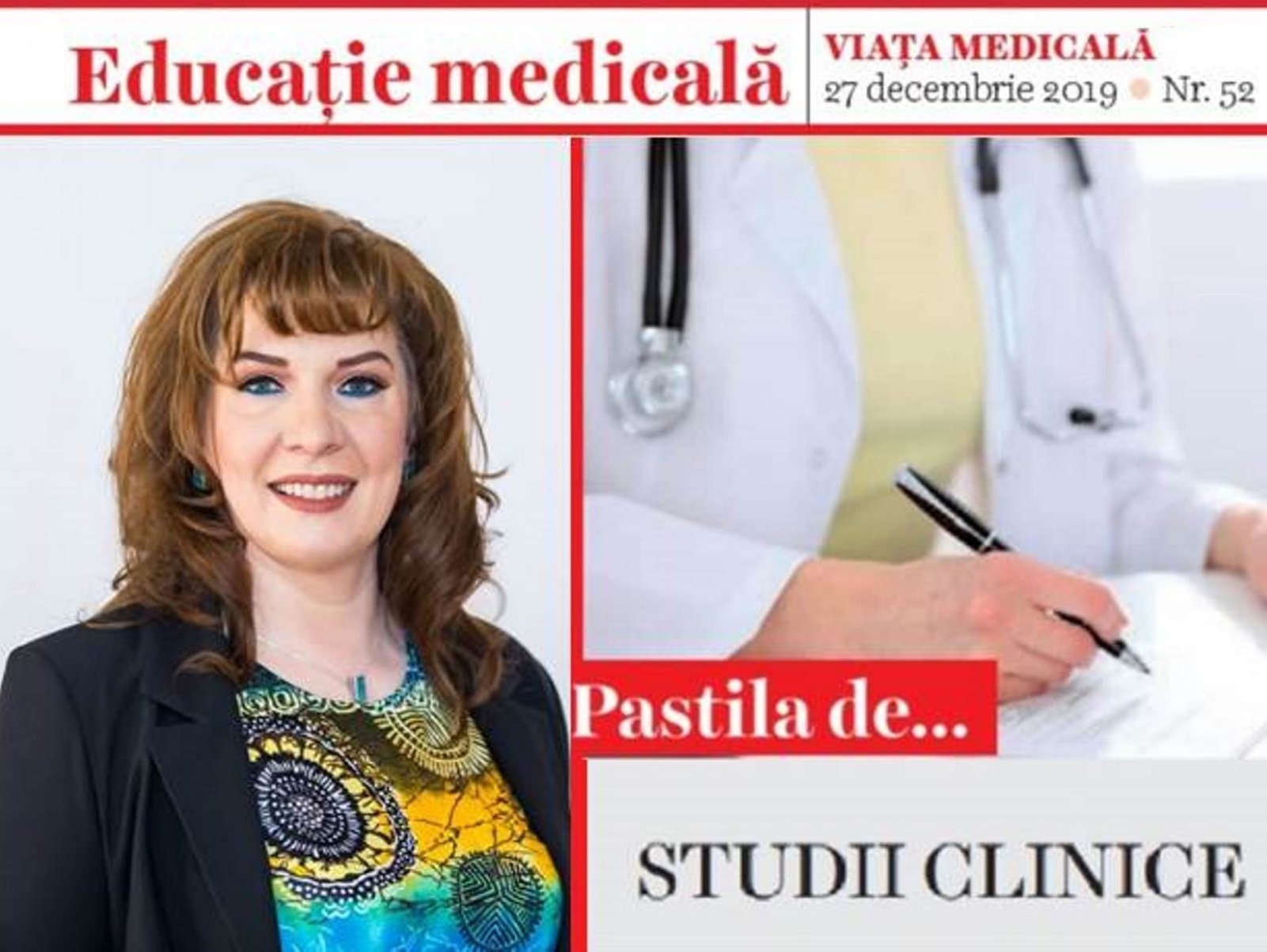 We started a series of articles on clinical trials fundamentals & information in Viata Medicala magazine