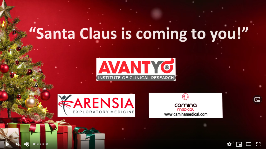 Santa Claus is coming to you